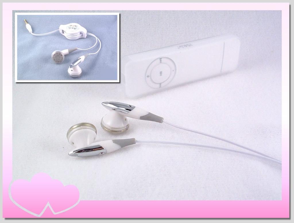 iPod/MP3 Stereo Headset(Earphone) Retractable 1