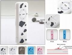 iPod Shuffle Silicon Skin Case - multicolored