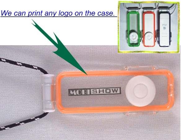 iPod shuffle 專用運動防水保護套 1