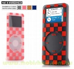 iPod nano silicone case (skin case) - multicolor