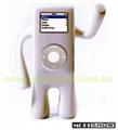iPod Nano人形直立式矽