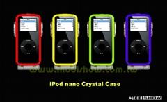 iPod nano 透明塑膠保護盒