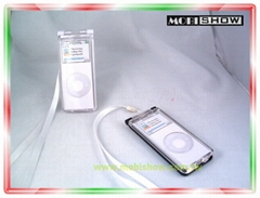 Crystal Case for iPod nano (Hard Case) -Multicolor