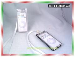 iPod nano 透明压克力保护盒