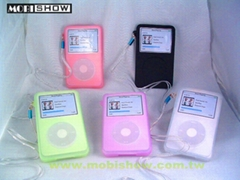iPod Video果凍矽膠保護套(夜光型可選購)