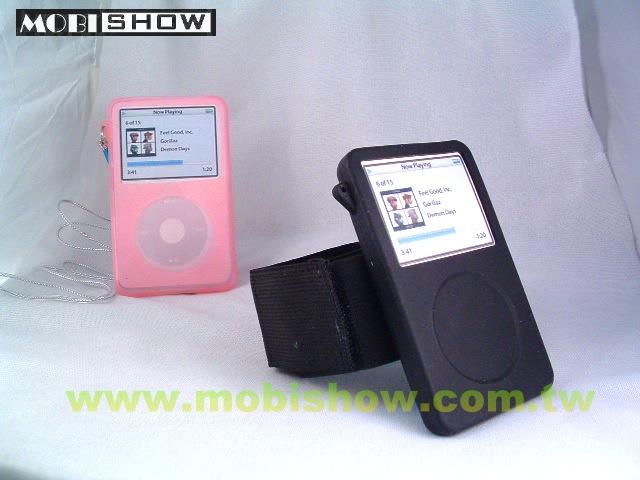 iPod Video果冻矽胶保护套(夜光型可选购) 1