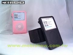 iPod Video果冻矽胶保护套(夜光型可选购)