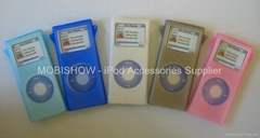 iPod nano 2果冻矽胶保护套(夜光型可选购)