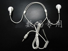 Lanyard Headphones for iPod nano, G5 Video
