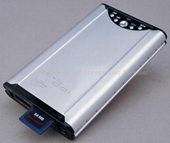 "2.5"" HDD Player With OTG And Card Reader ( MP3 / MP4 / PMP )"
