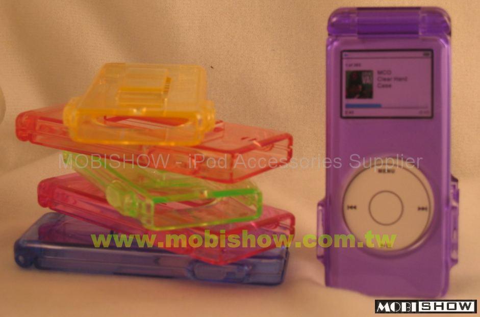 iPod Nano 水晶多彩保护壳 1