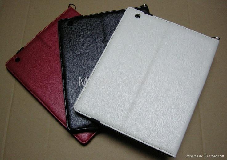 Leather Case for Apple iPAD II ( iPAD 2 ) 2