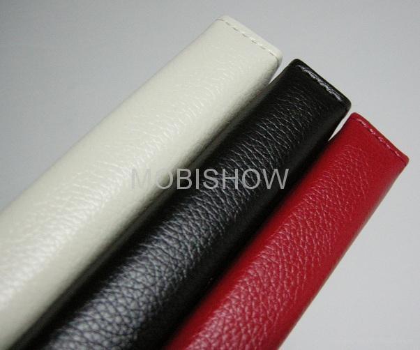 iPAD 2專用立架皮套 (Leather Case) 3