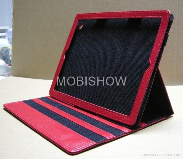 Leather Case for Apple iPAD II ( iPAD 2 ) 4
