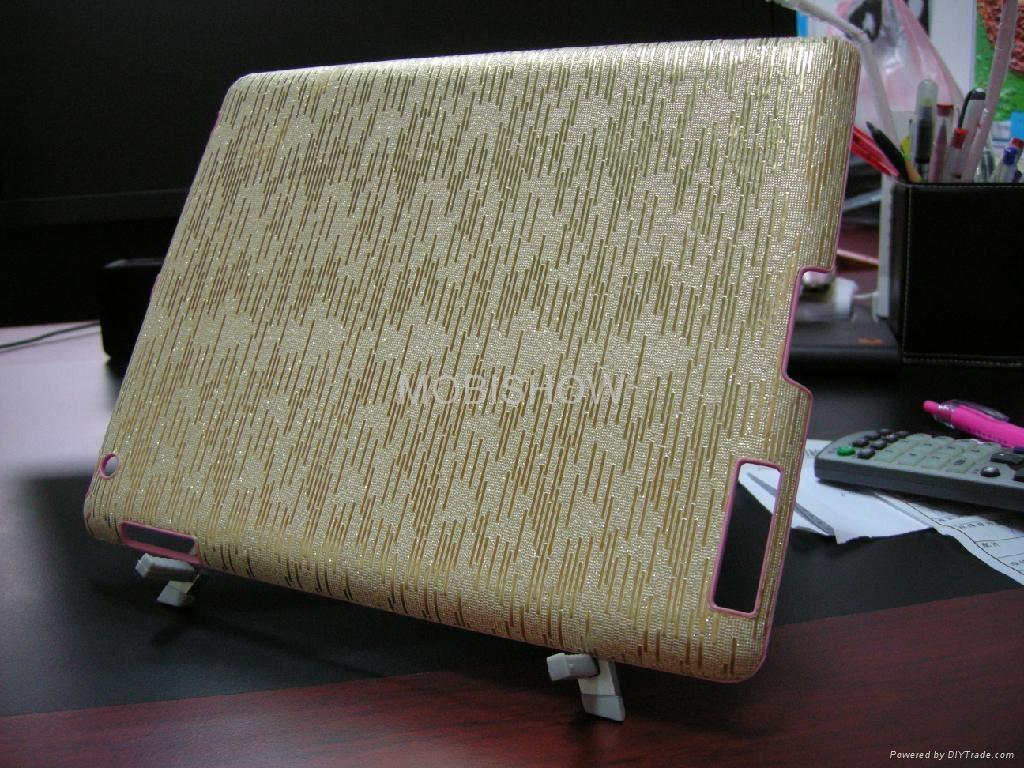 iPAD 2专用 贴皮塑胶 壳 1