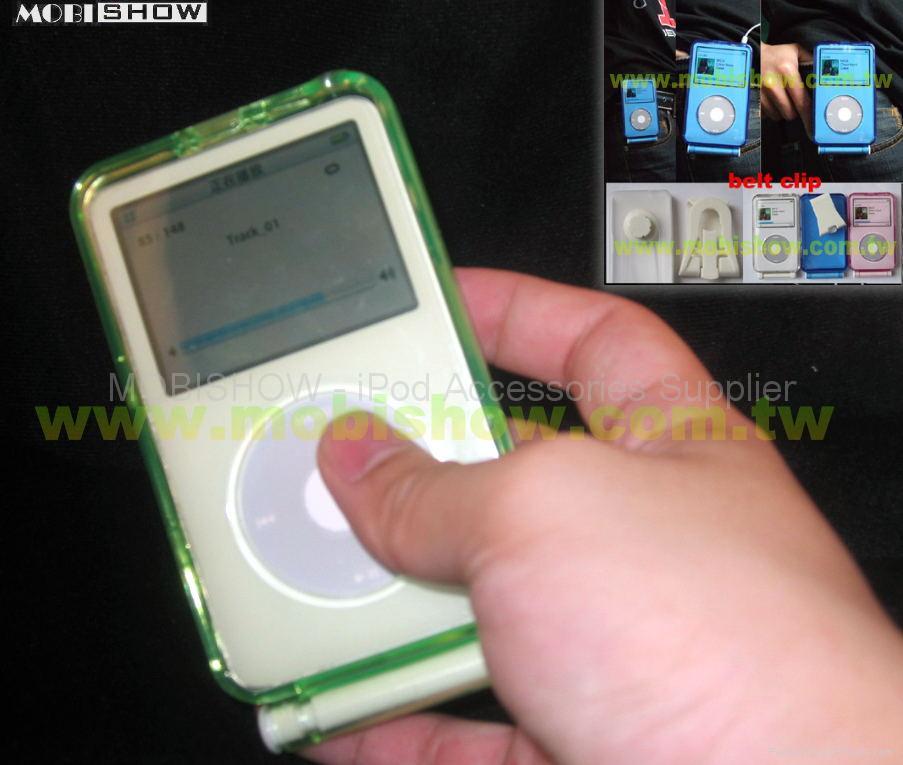 iPod Video 水晶多彩保護殼 1