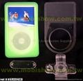 iPod Video高檔矽膠套 (含防刮片)