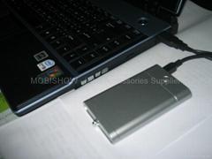 iPod,PSP,PDA 易携式充电锂电池(高)