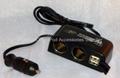 Mulit-Functional Car Charger Converter Adaptor 2
