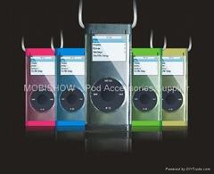 iPod Nano 2 水晶多彩保護殼