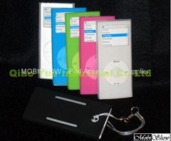 iPod nano 2代 果冻矽胶保护套