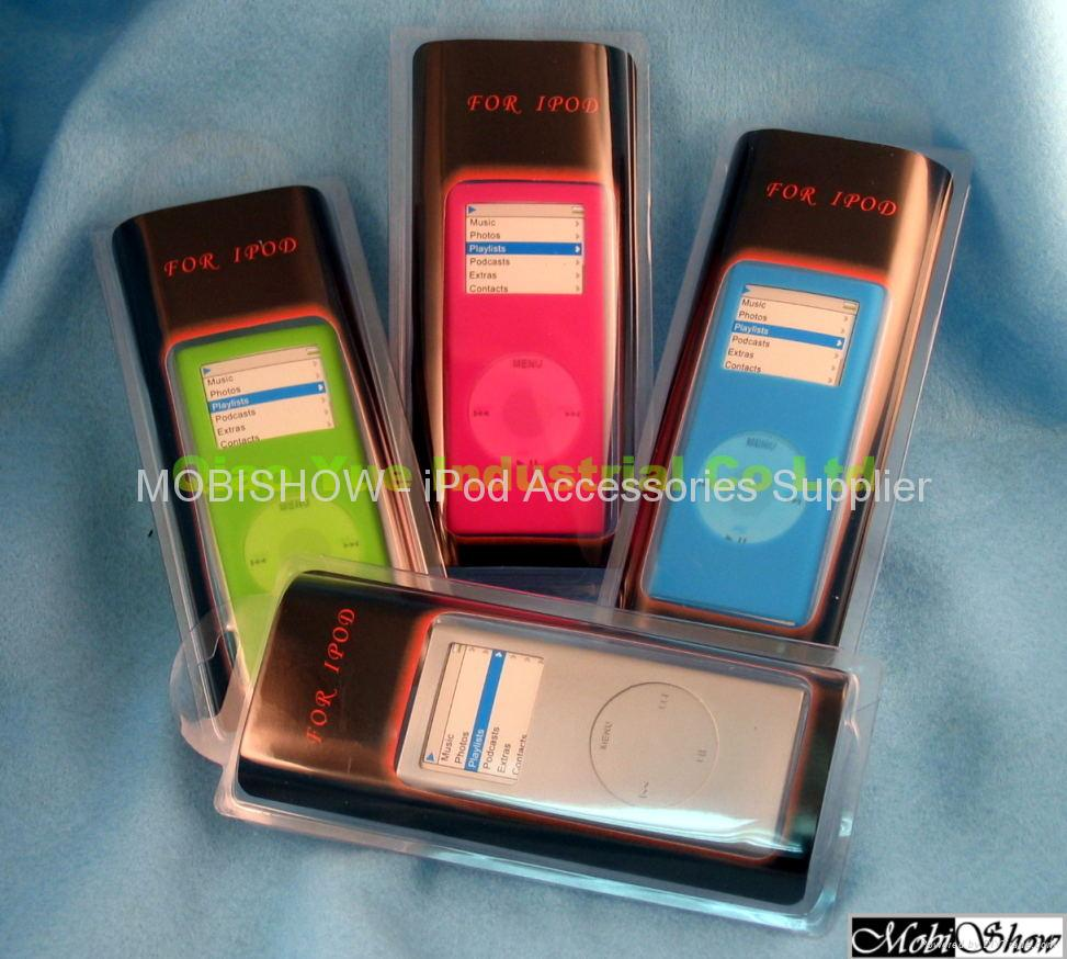 Silicone case for iPod Nano 2nd 3