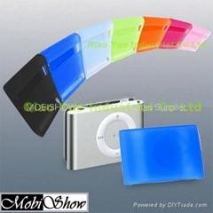 iPod New Shufle 果冻矽胶保护套