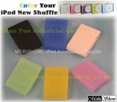 iPod Shufle 2nd 果凍矽膠保護套