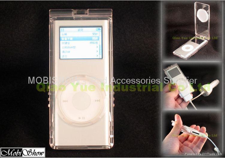 iPod Nano 2nd 水晶多彩保護殼 1