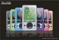 Colourful Crystal Case for Microsoft Zune