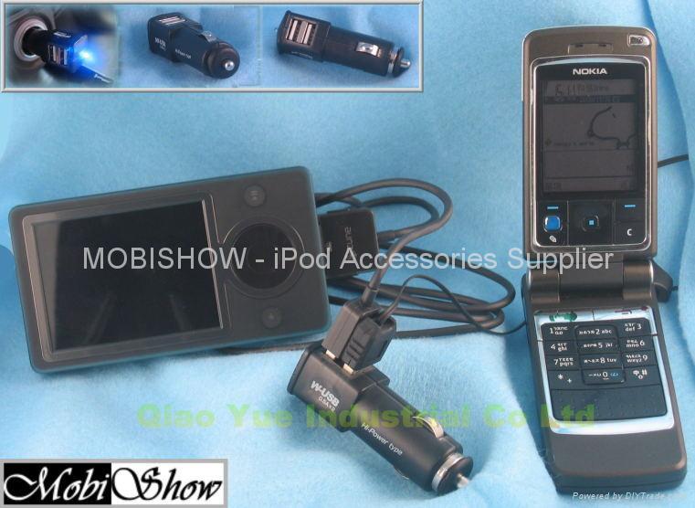 双口USB车充 1