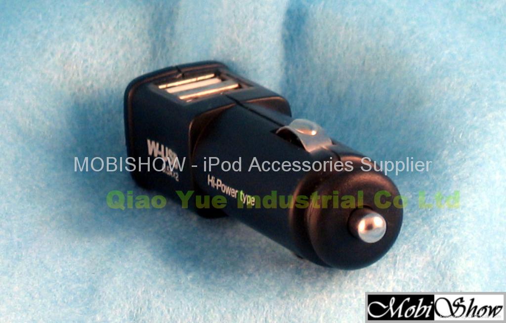 双口USB车充 4