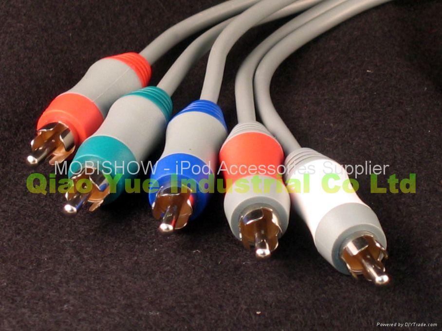 HD Pro Component Cable for Nintendo Wii 2