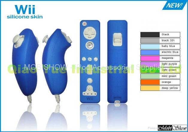 Silicon Case for Wii Remote and Nunchuk 1
