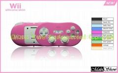任天堂 Wii 传统把手专用果冻套