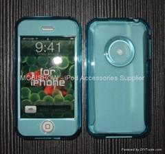 Apple iPhone 多彩水晶透明殼,保護殼
