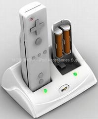 Wii 把手充電電池專用充電座