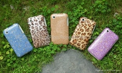 Fashion TPU Leather + ABS Case For iPhone 3G (Hot Product - 1*)