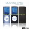 Silicone case for iPod Nano 4rd