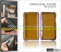 Apple iTouch 2nd 多彩水晶透明壳,保护壳
