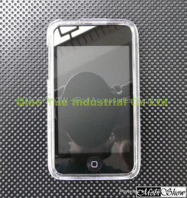 Apple iTouch 2nd 多彩水晶透明殼,保護殼 1