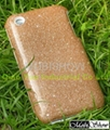 Re-stickable Artificial Leather (TPU) Cover for iPod, iPhone