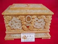 骨灰盒九龍碧玉盒