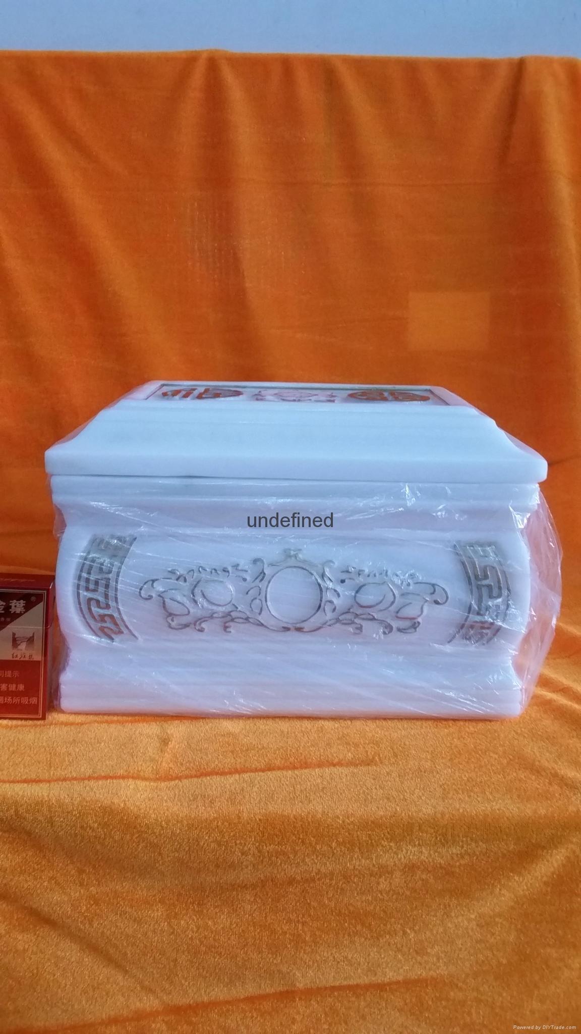 漢白玉鎏金骨灰盒 2