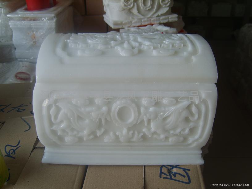 漢白玉骨灰盒龍宮 1