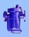 铸钢倒筒式蒸汽疏水器