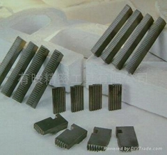 Tungsten carbide taps chasers PT-thread
