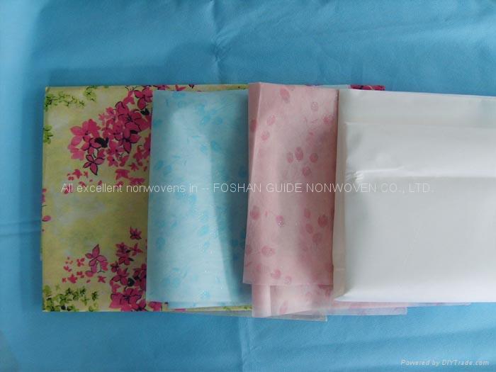 hot printing polyester spunbond non-woven 2