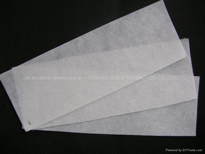 无纺脱毛腊纸片材料 1