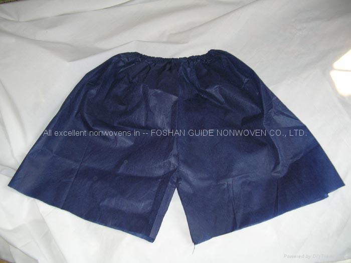 一次性无纺布平脚短裤 1